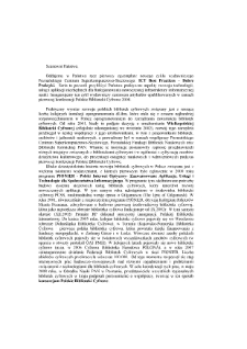 """Konferencja """"Polskie Biblioteki Cyfrowe"""" 2008 - Wstęp do materiałów konferencyjnych"""