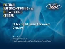 dLibra Digital Library Framework Overview
