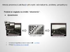 Strumieniowe udostępnianie obrazów cyfrowych