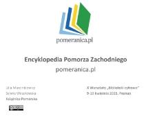 Encyklopedia Pomorza Zachodniego. pomeranica.pl