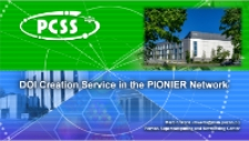 DOI Creation Service in the PIONIER Network